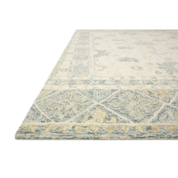 Loloi Norabel NOR 01 Ivory / Grey Area Rug Rugs Loloi