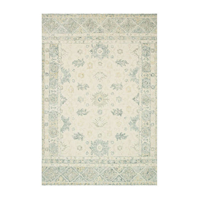 "Loloi Norabel NOR 01 Ivory / Grey Area Rug Rugs Loloi 2' 3"" x 3' 9"" Rectangle"