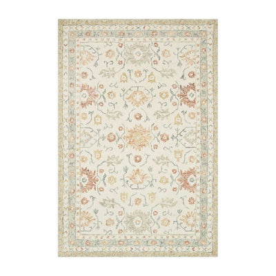 "Loloi Norabel NOR 03 Ivory / Red Area Rug Rugs Loloi 2' 3"" x 3' 9"" Rectangle"