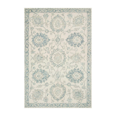 "Loloi Norabel NOR 04 Ivory / Blue Area Rug Rugs Loloi 2' 3"" x 3' 9"" Rectangle"
