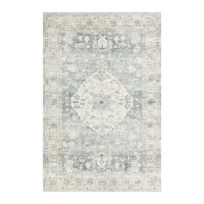 "Loloi II Rosette ROS 07 Blue / Grey Area Rug Rugs Loloi 2' 2"" x 3' 8"" Rectangle"