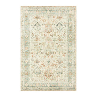"Loloi II Rosette ROS 01 Beige / Multi Area Rug Rugs Loloi 2' 2"" x 3' 8"" Rectangle"