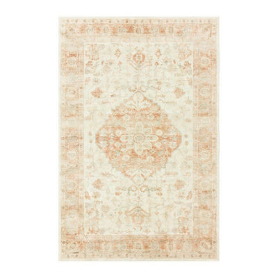 "Loloi II Rosette ROS 03 Ivory / Red Area Rug Rugs Loloi 2' 2"" x 3' 8"" Rectangle"