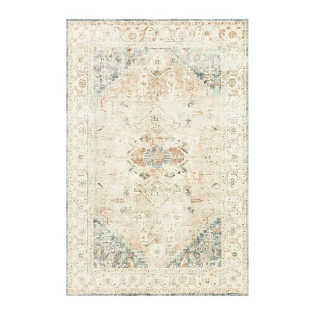 "Loloi II Rosette ROS 06 Ivory / Multi Area Rug Rugs Loloi 2' 2"" x 3' 8"" Rectangle"