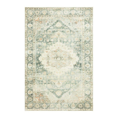 "Loloi II Rosette ROS 08 Blue / Green Area Rug Rugs Loloi 2' 2"" x 3' 8"" Rectangle"