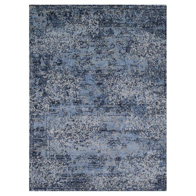 "Loloi Viera VR 06 Blue Grey Area Rug Rugs Loloi 3' 10"" x 5' 7"" Rectangle"