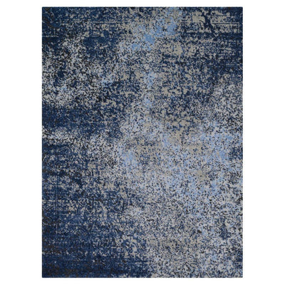 "Loloi Viera VR 07 Grey Navy Area Rug Rugs Loloi 3' 10"" x 5' 7"" Rectangle"