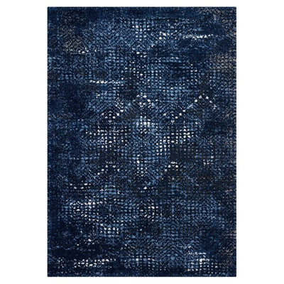 "Loloi Viera VR 08 Dark Blue / Light Blue Area Rug Rugs Loloi 3' 10"" x 5' 7"" Rectangle"