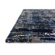 "Loloi Viera VR 09 Dark Blue / Grey Area Rug Rugs Loloi 2' 5"" x 7' 7"" Runner"