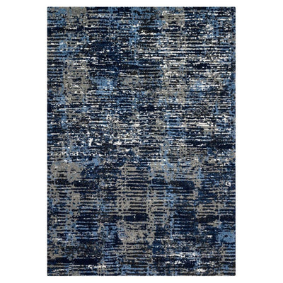 "Loloi Viera VR 09 Dark Blue / Grey Area Rug Rugs Loloi 3' 10"" x 5' 7"" Rectangle"