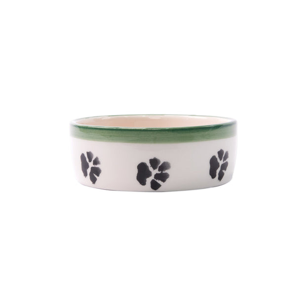 Vietri Old St. Nick Small Dog Bowl Dinnerware Vietri