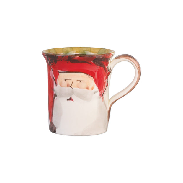 Vietri Old St. Nick Assorted Mugs - Set of 4 Dinnerware Vietri
