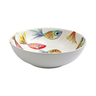 Vietri Pesci Colorati Deep Bowl Dinnerware Vietri