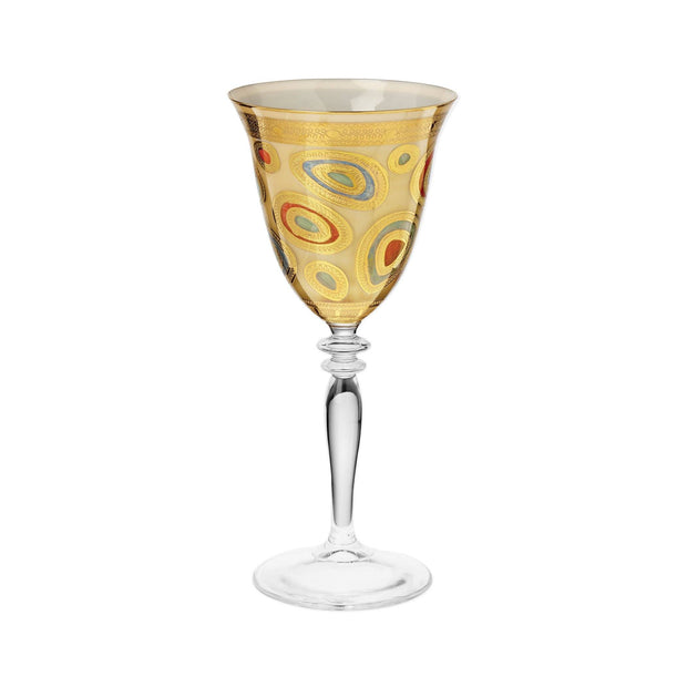 Vietri Regalia Cream Wine Glass Dinnerware Vietri