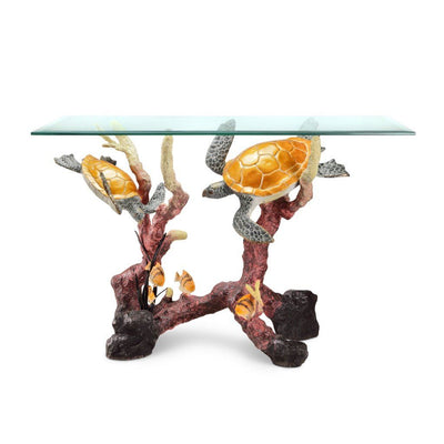 SPI Gallery Sea Turtle Console Table Tables SPI