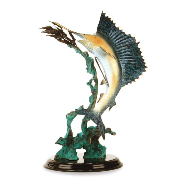 SPI Gallery Ballyhoo for Sail Sailfish Sculpture Sculptures SPI