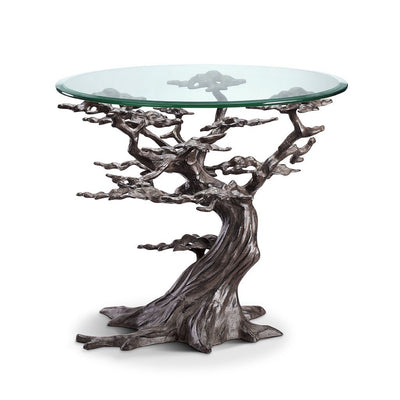 SPI Home Cypress Tree End Table Tables SPI