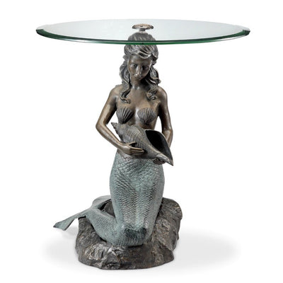 SPI Home Mermaid End Table Tables SPI