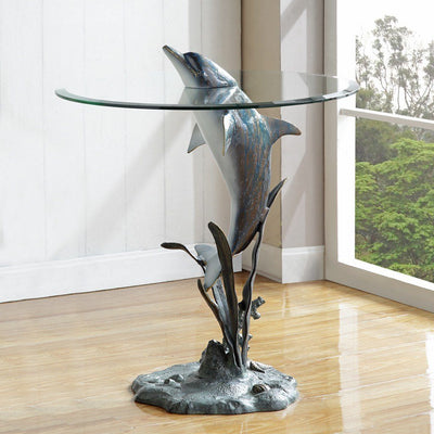 SPI Home Surfacing Dolphin End Table Tables SPI