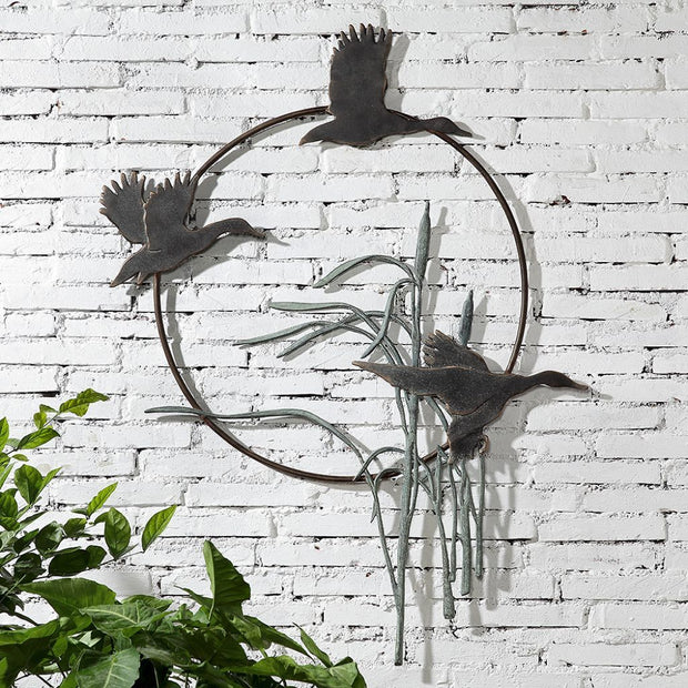 SPI Garden Duck Trio Wall Hanging Wall Art SPI
