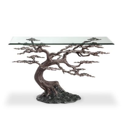 SPI Home Cypress Tree Console Table Tables SPI