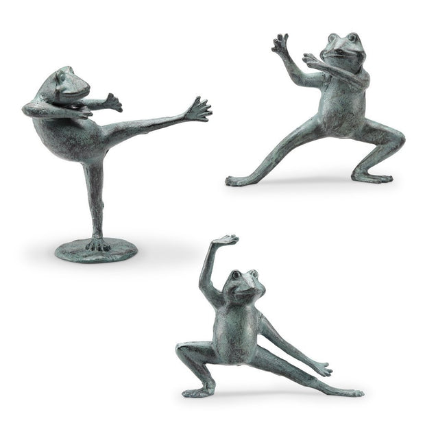 SPI Home Tai Chi Frogs Set/3 Sculptures Sculptures SPI