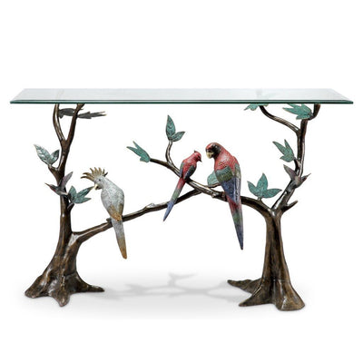 SPI Gallery Tropical Bird Flock Console Table Tables SPI