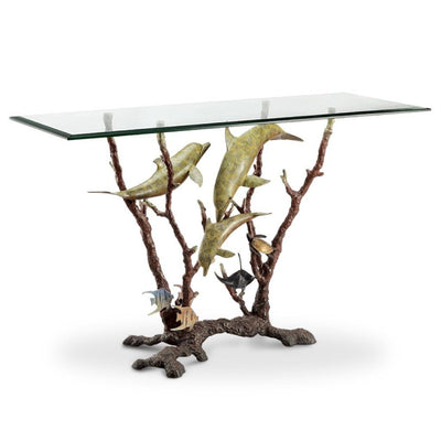 SPI Gallery Dolphin Trio Console Table Tables SPI