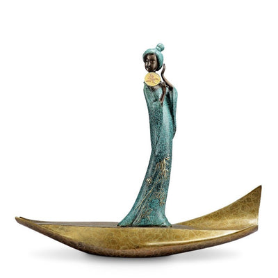 SPI Gallery Lady of Tang Musician Sculpture Sculptures SPI