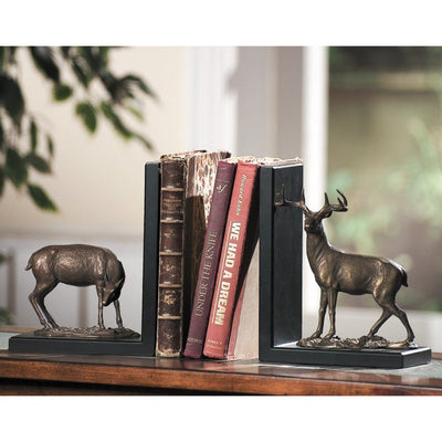 SPI Home Deer Bookends Sculptures SPI