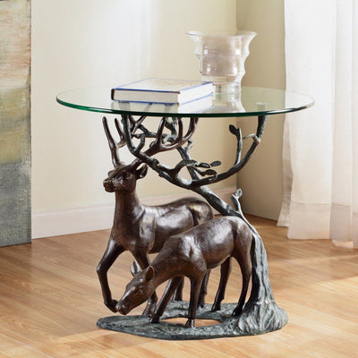 SPI Home Deer Pair End Table Tables SPI