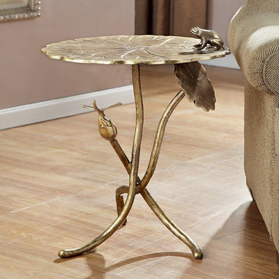 SPI Home Frog & Dragonfly End Table Tables SPI