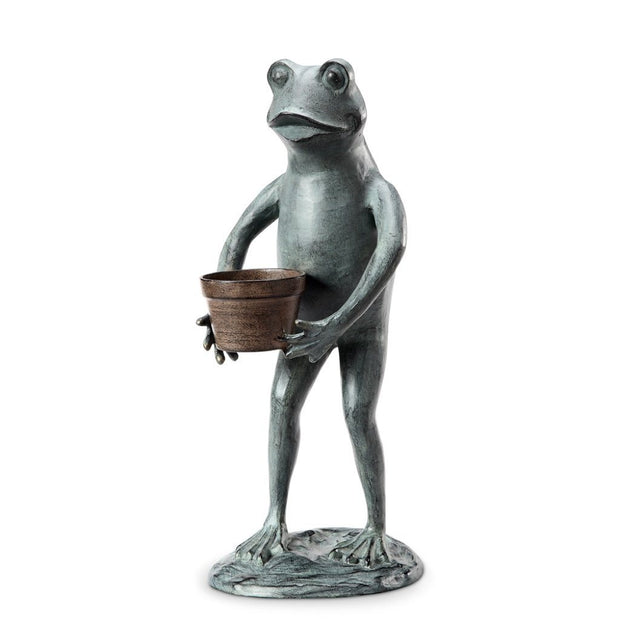 SPI Garden Helpful Frog Planter Holder Planters SPI