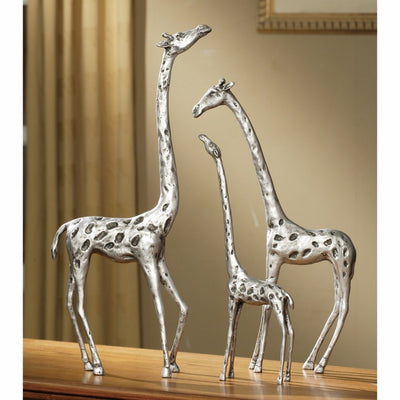 SPI Home Giraffe Family Sculptures - Set of 3 Sculptures SPI