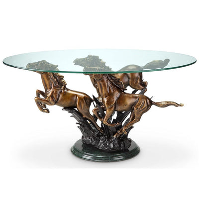 SPI Home Galloping Horse Trio Coffee Table Tables SPI