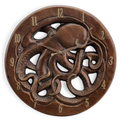 SPI Home Octopus Wall Clock Wall Art SPI