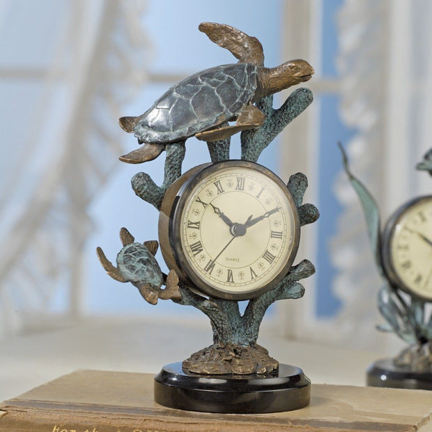 SPI Home Sea Turtle Clock Clocks SPI
