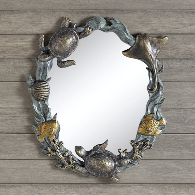 SPI Home Turtles & Sealife Wall Mirror Wall Art SPI