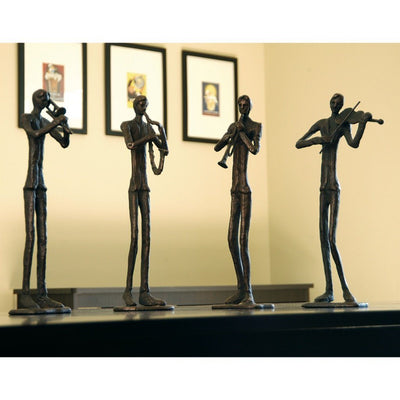 SPI Home Jazzy Quartet Sculptures - Set of 4 Sculptures SPI