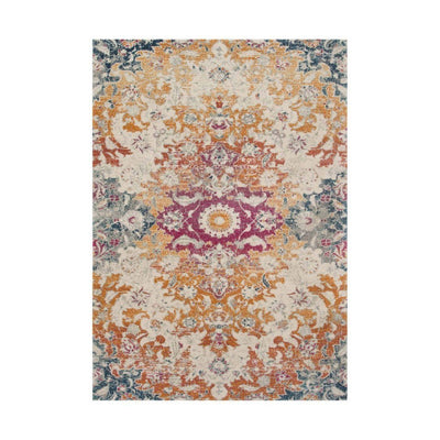 "Loloi Zehla ZL 02 Ivory / Fiesta Area Rug Rugs Loloi 2' 2"" X 3' 9"" Rectangle"