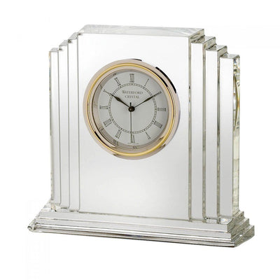 "Waterford Crystal Metropolitan Clock 6"" Clocks Waterford Crystal"