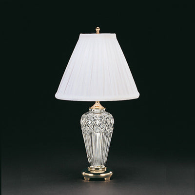 "Waterford Crystal Belline 18"" Accent Lamp Lighting Waterford Crystal"