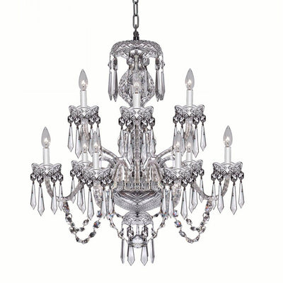 Waterford Crystal Cranmore 9 Arm Chandelier Lighting Waterford Crystal