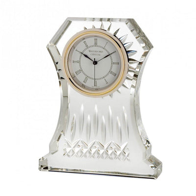"Waterford Crystal Lismore Clock 6.5"" Clocks Waterford Crystal"