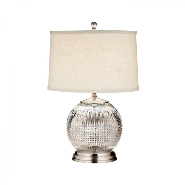 "Waterford Crystal Lismore Diamond 21.5"" Table Lamp Lighting Waterford Crystal"