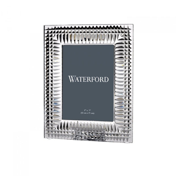 "Waterford Crystal Lismore Diamond Frame 5"" x 7"" Picture Frames Waterford Crystal"