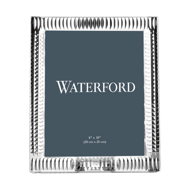 "Waterford Crystal Lismore Diamond Frame 8"" x 10"" Picture Frames Waterford Crystal"