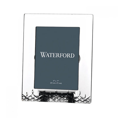 "Waterford Crystal Lismore Essence Frame 5"" x 7"" Picture Frames Waterford Crystal"
