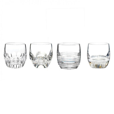 Waterford Crystal Mixology Clear Tumbler, Set of 4 Barware Waterford Crystal
