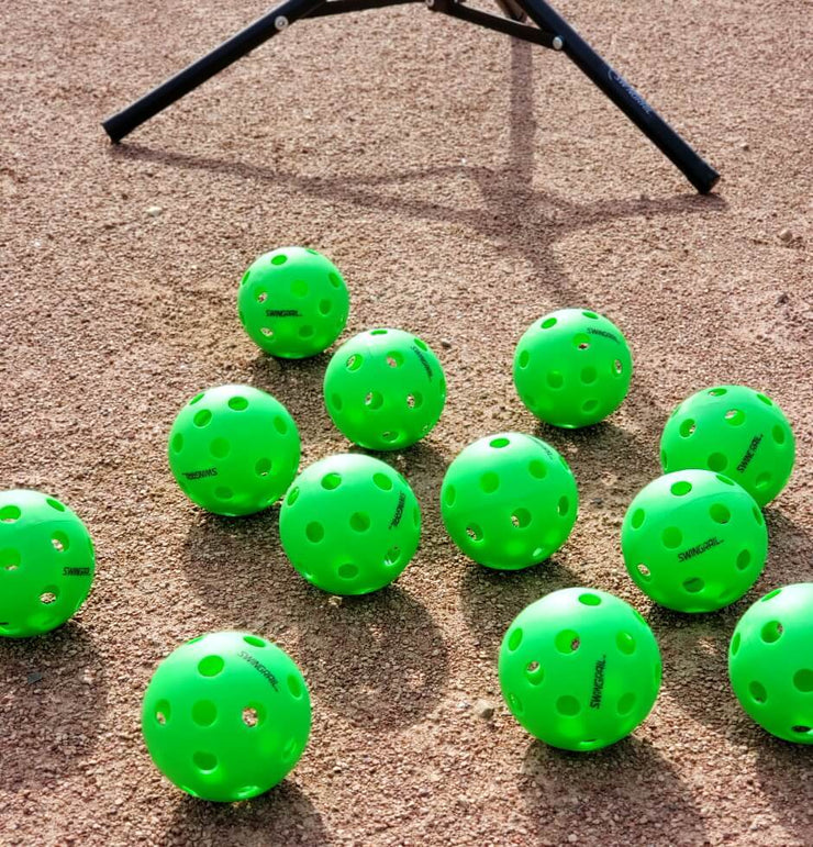 PLASTIC TRAINING BALLS